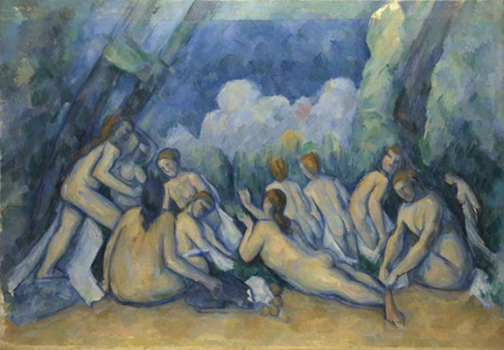 Cezánne, Les grandes baigneuses, 1906, National Gallery, London