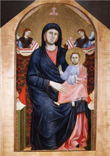 Madonna e il Bambino Giotto, ca. 1925 Fresco